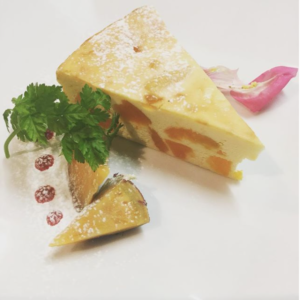 【パンプ金時芋のベイクドチーズケーキ】