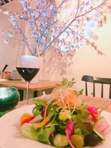 【インドアお花見会〜満開の桜を店内で〜】